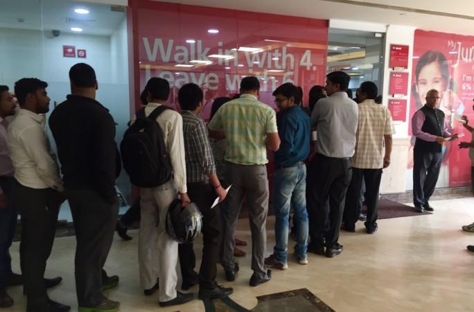 Indian rupee bank