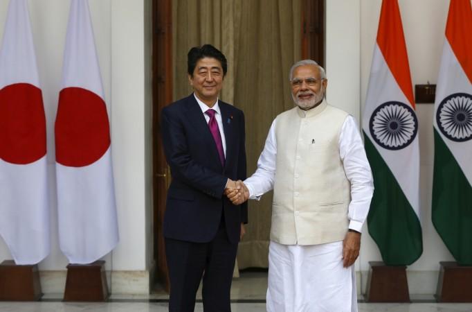 Narendra Modi in Japan