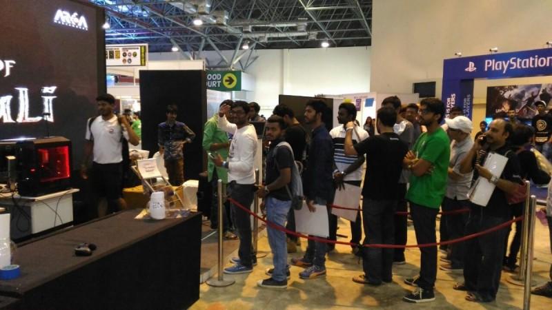 Baahubali fans at Bangalore Comic Con