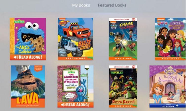 Apple TV: New iBooks StoryTime app released for kids