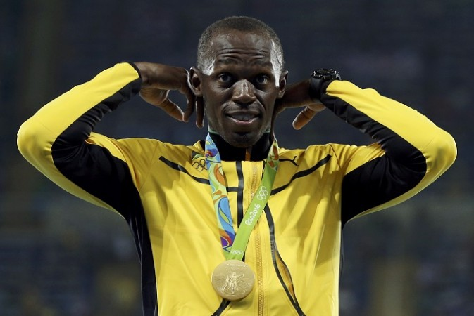 Usain Bolt Olympic medal