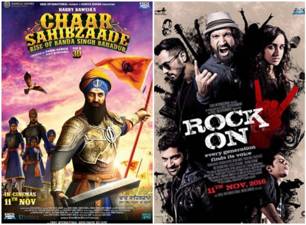 Chaar Sahibzaade - Rise of Banda Singh Bahadur and Rock On 2