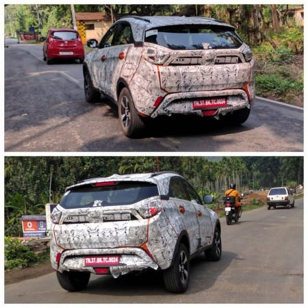 Tata Nexon continues to be tested on public roads