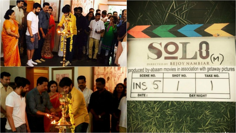 Dulquer Salmaan and Bejoy Nambiar's movie Solo starts rolling