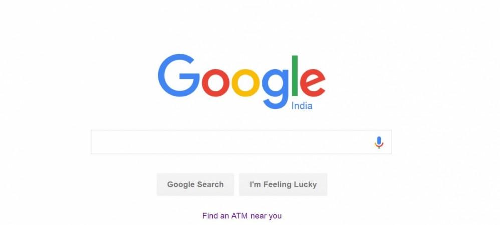 Google India ATM locator