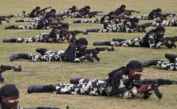 CRPF deploys women commandos