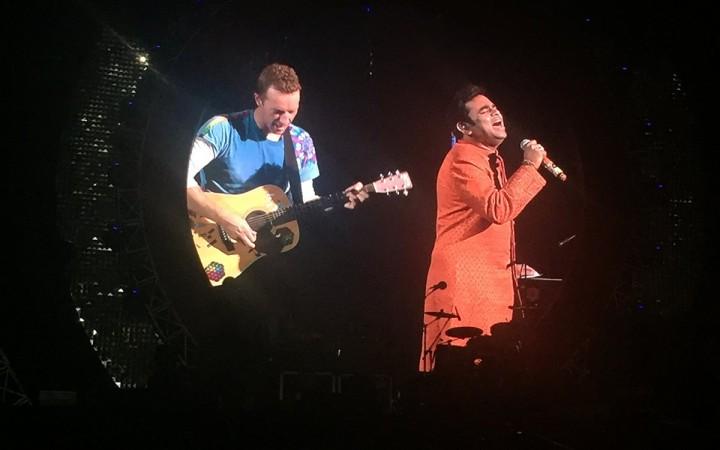 British band Coldplay's frontman Chris Martin