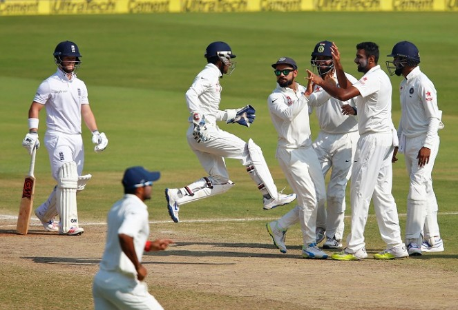 Ben Duckett England R Ashwin Virat Kohli India