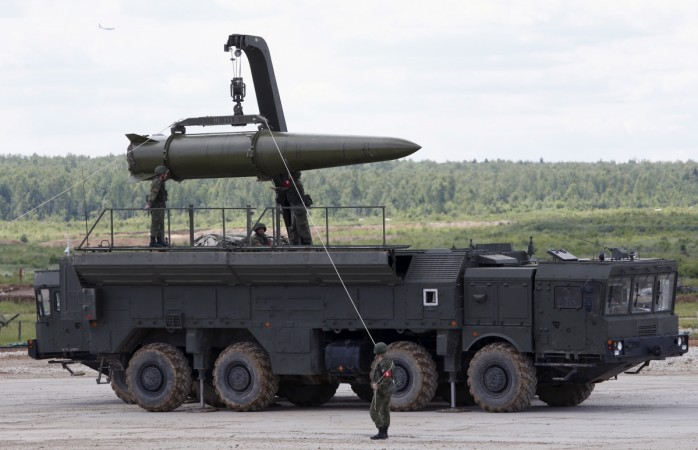 Russian nuclear-capable missile