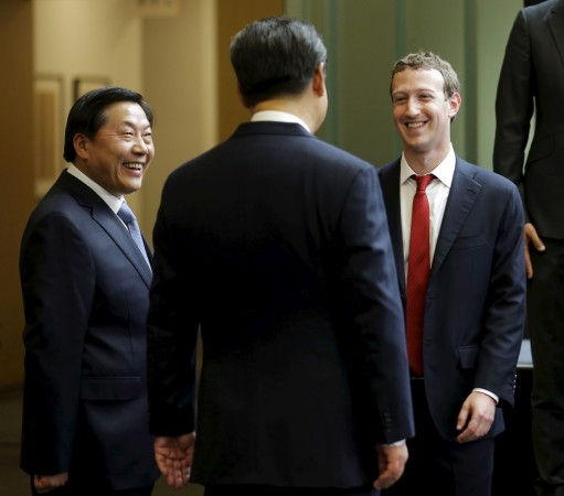 Facebook looking to get back into China?
