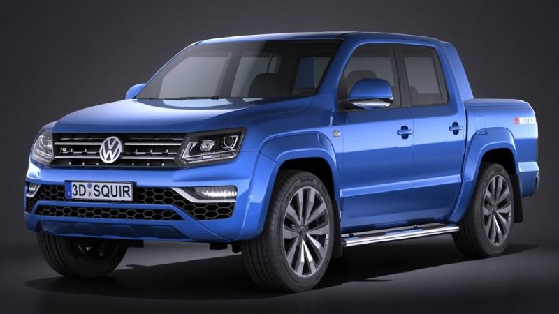 Volkswagen V6 diesel Amarok