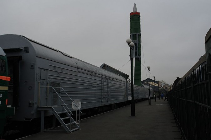 Russia to revive nuclear trains.