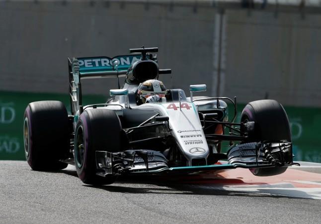 Lewis Hamilton Mercedes Abu Dhabi GP