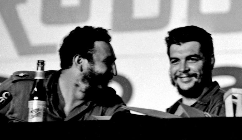 Che Guerava and Fidel Castro