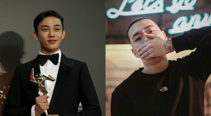 Yoo Ah In and BewhY