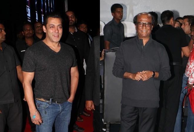 Rajinikanth and Salman Khan to team up for Rockline Venkatesh's next?