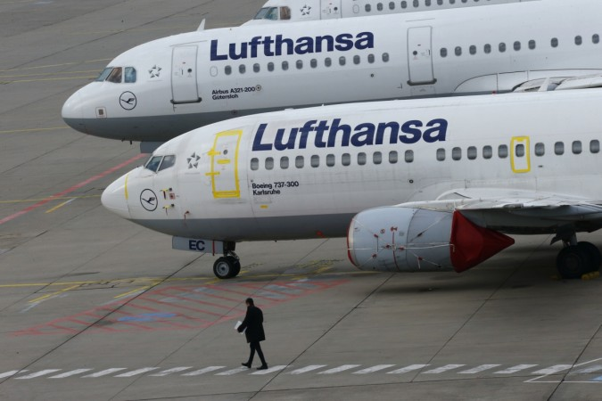 Lufthansa flight cancellations