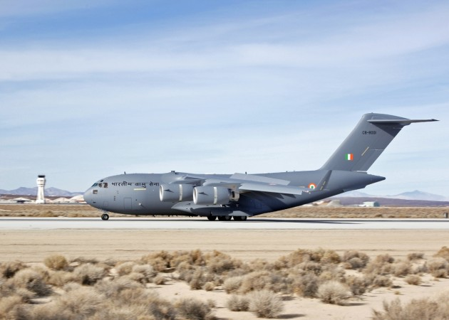 C-17 heavy-lift aircraft