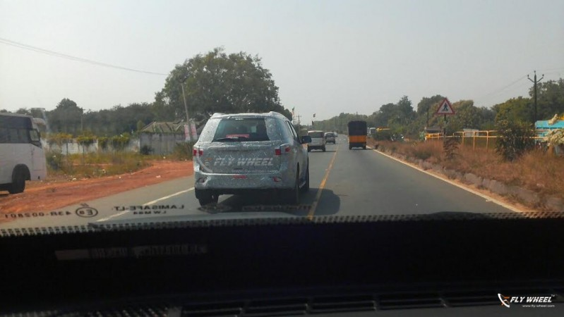 Ford Kuga SUV spotted testing for the first time in India
