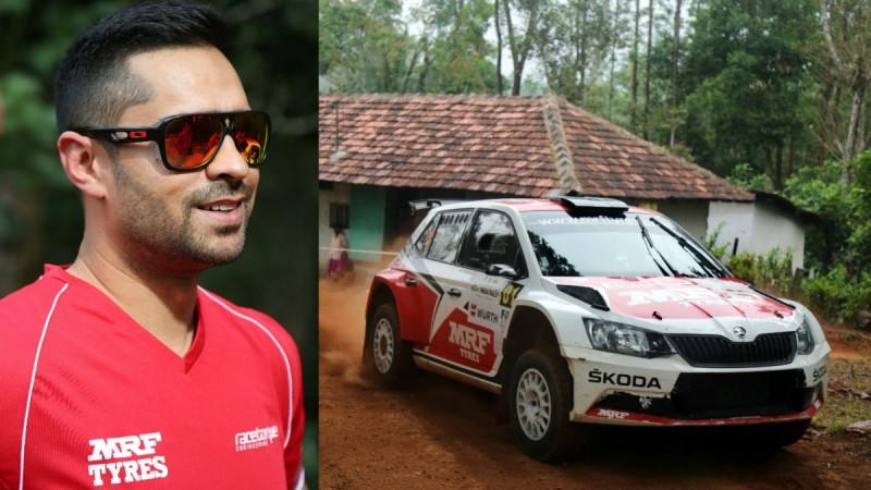 Gaurav Gill and Skoda Fabia R5