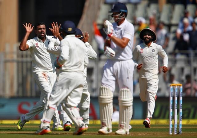 R Ashwin India Joe Root England