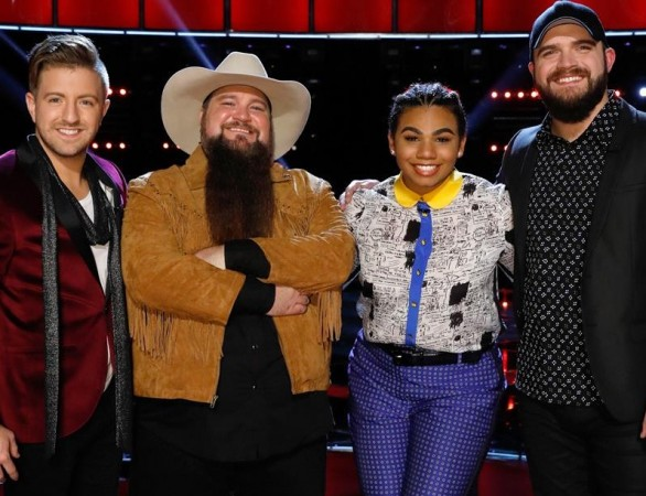 The Voice USA 2015 finalists