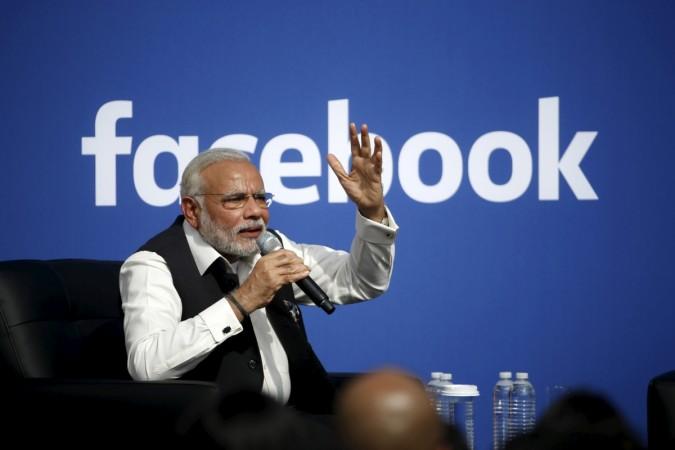 narendra modi facebook mark zuckerberg