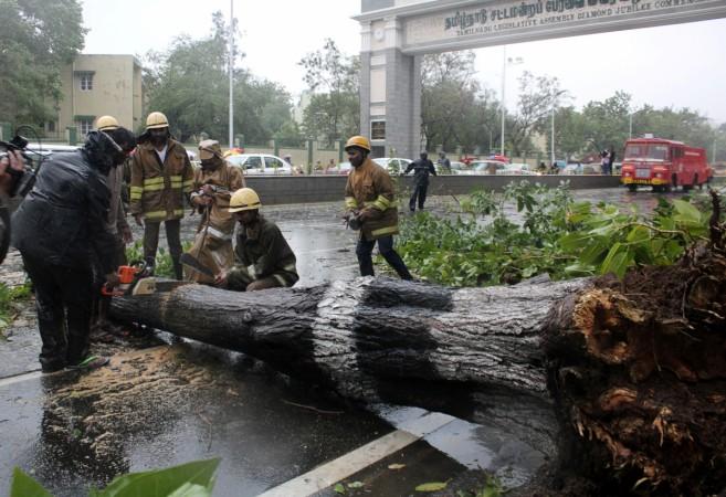 Chennai cyclone Vardah rains