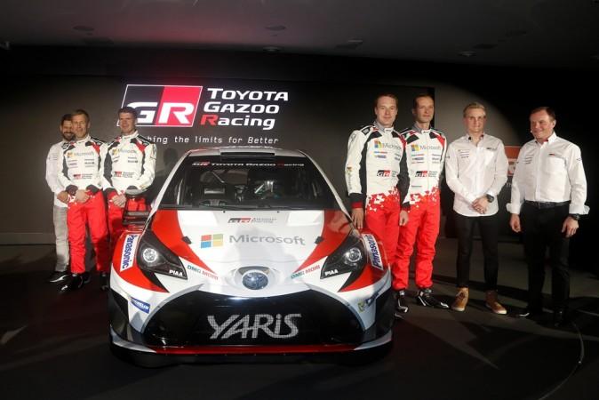 Toyota Gazdoo racing unveils Yaris WRC