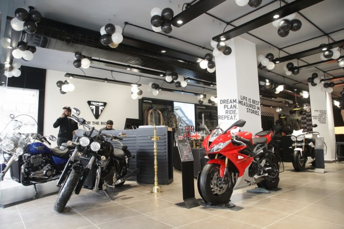Triumph Motorcycles sets up new dealership in Delhi