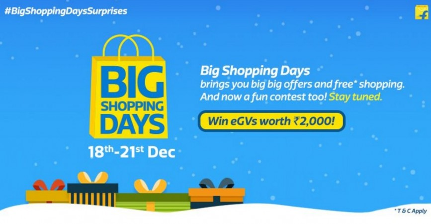 Flipkart Big Shopping Days sale preview: OnePlus 3, Apple iPhone 6S, Moto E3 Power and others to get huge discounts