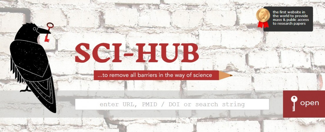 Sci-Hub 'pirate' named by Nature as one of the top 10