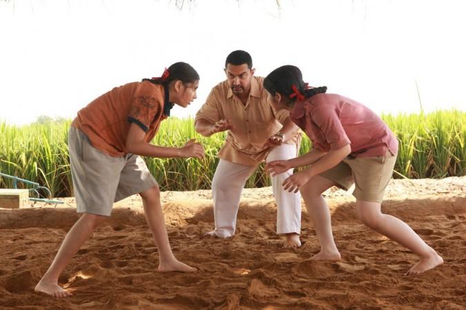 Dangal, Aamir Khan, Sakshi Tanwar, Fatima Sana Shaikh, Sanya Malhotra, Director Nitesh Tiwari