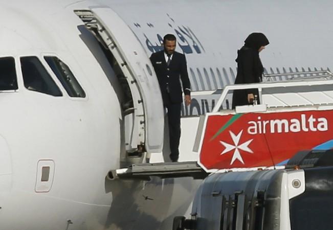 Libya plane hijack
