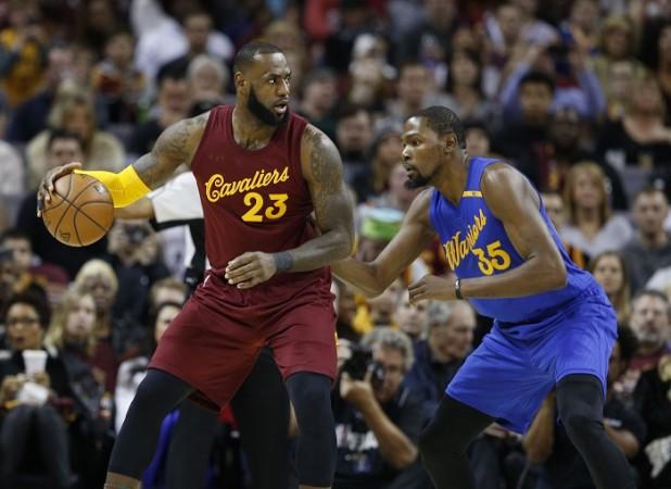 LeBron James, Cleveland Cavaliers, Warriors, NBA, Christmas 2016