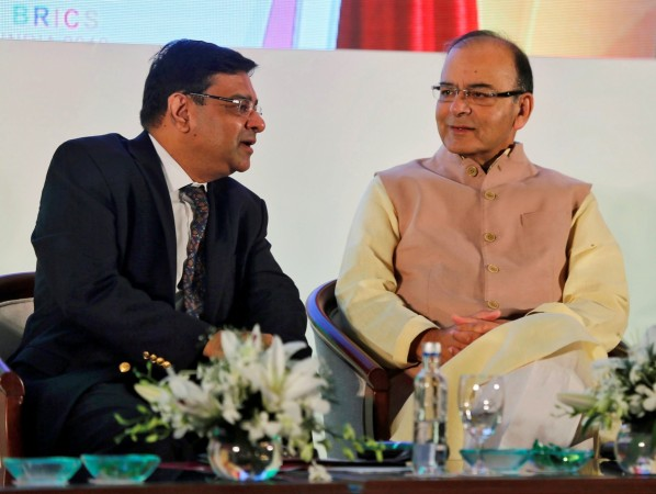 Reserve Bank of India (RBI) Governor Urjit Patel, Finance Minister Arun Jaitley