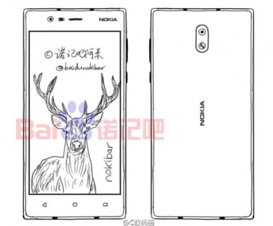 Nokia D1C blue print, Nokia D1C, Nokia E1, Nokia P