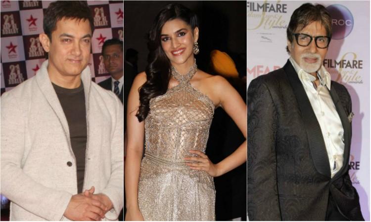 Kriti Sanon, Aamir Khan, Amitabh Bachchan, Thugs of Hindostan