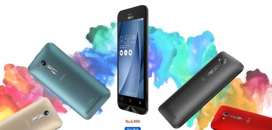 Asus, Zenfone Go 4.5 LTE, Qualcomm, Snapdragon 410, India