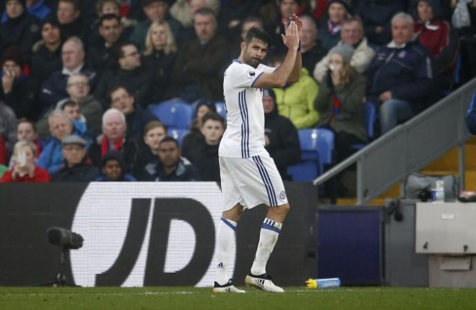 Diego Costa, Chelsea, Stoke City, Antonio Conte, New Year's Eve, Premier League