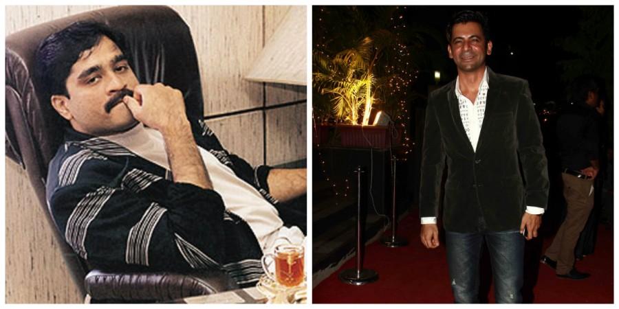 Dawood Ibrahim and Sunil Grover