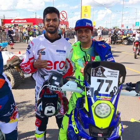 CS Santosh and Aravind KP, Dakar rally