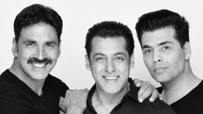 Salman Khan, Akshay Kumar, Karan Johar