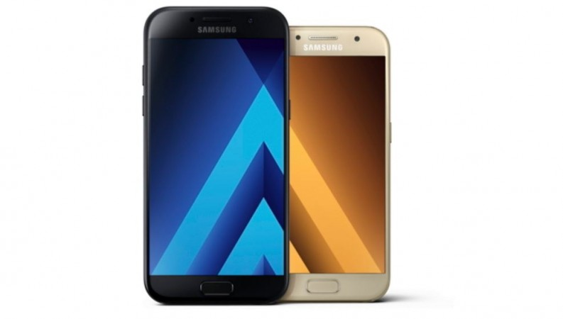 best service 5bb7e 48197 Samsung launches 2017-edition water-proof Galaxy A7, A5 in India ...