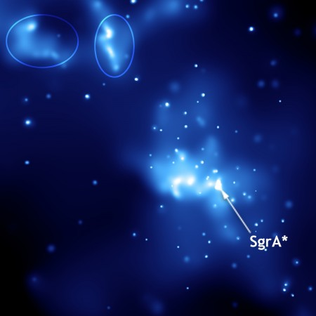 The center of the Milky Way is teeming with black holes