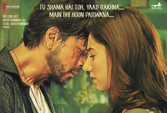 Shah Rukh Khan, Mahira Khan, Raees, Zaalima