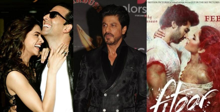 Akshay Kumar, Katrina Kaif, Shah Rukh Khan, Aditya Roy Kapur, Katrina Kaif