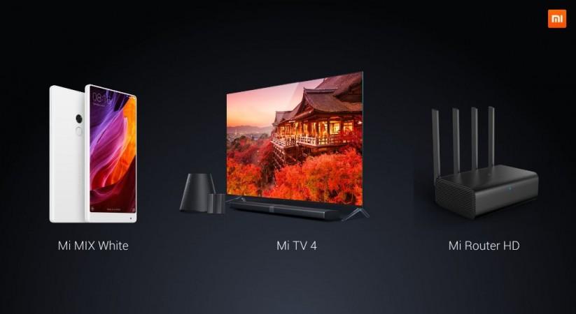 Xiaomi TV: Company unveils ultra-slim smart Mi TV 4, white Mi Mix at