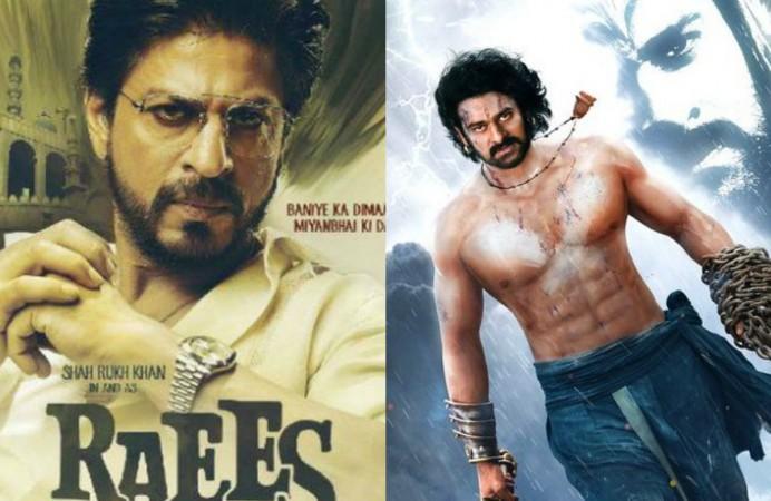 Shah Rukh Khan, Raees, Baahubali 2, Prabhas