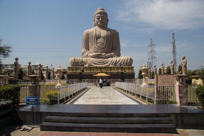 buddha statue bodh gaya